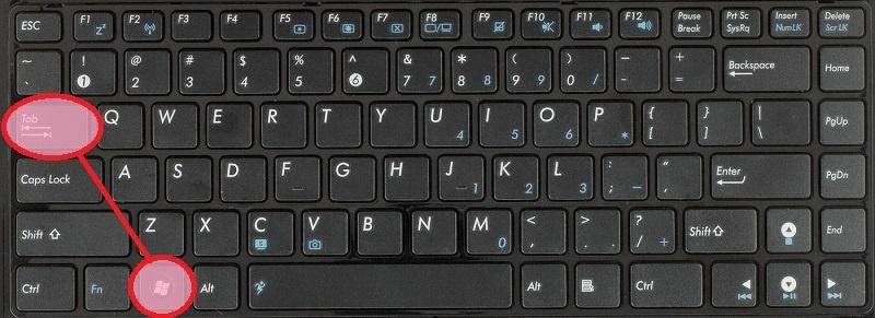 Windows + TAB